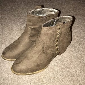 Altar'd State Brown Booties